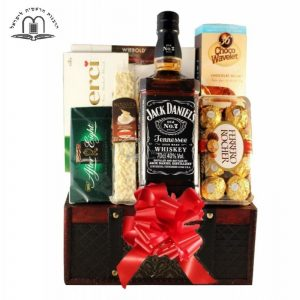 Jack Daniels Whiskey Gift Basket in Israel