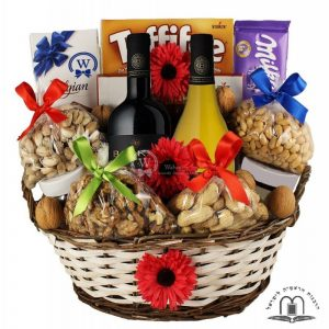Le'Haim Gift Basket – Wine Gift Basket To Israel