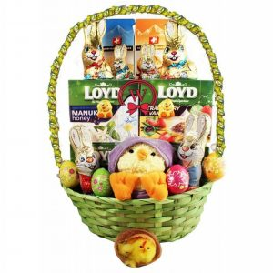 Easter Tea Sunshine – Gift Basket In Israel