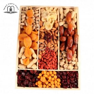 Going Nuts and Dried – Nuts and Dried Fruits gift basket