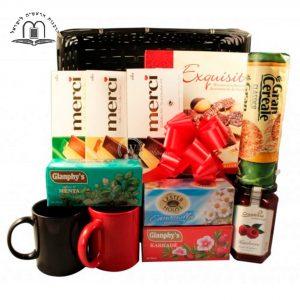 Sweet Afternoon Tea Gift Basket
