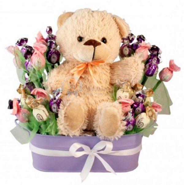 Sweet Girl Arrival Sweet Bouquet (1)