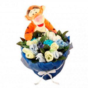 Tigger Baby Boy Clothing Bouquet