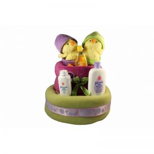 Double Chicks Diaper Nappy Cake
