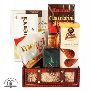 Delightful Discovery Chocolate Gift Basket Israel