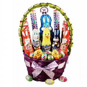 Chocoholico Bunny – Easter Gift Basket In Israel