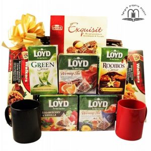 Fresh British Morning – Tea Gift Basket Israel