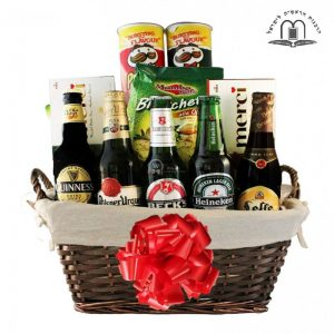 Boys Night Out – Beers Gift Basket Israel