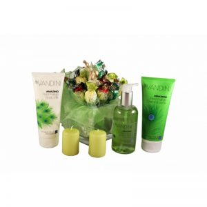 Golden Greens – spa products sweet bouquet
