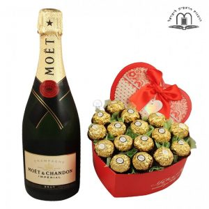 Pure Love Affection – Champagne Gift To Israel