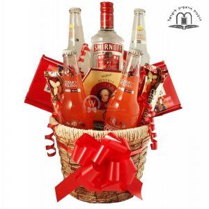 Men Temptation Gift Basket Israel