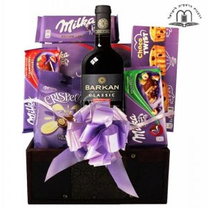 Milka Chocolate Collection – Gift Basket To Israel