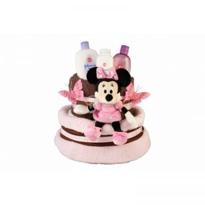 Minnie Mouse Diaper Nappy Cake