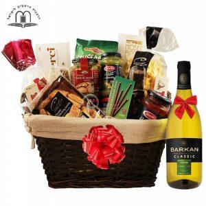 Perfecto D Italia – White Wine Gift Basket Israel
