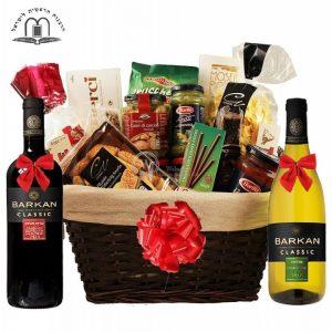 Perfecto D Italia – Dual Wines Gift Basket Israel