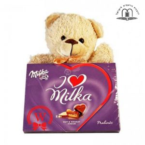 Sweet Hearts With A Teddy – Gift To Israel