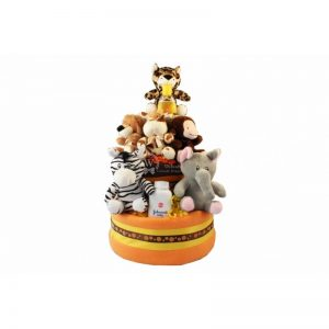 The Serengeti Diaper Cake