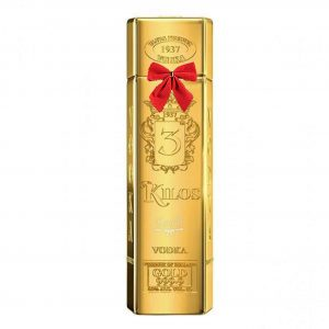 3 Kilos Gold Bar Vodka 700ml