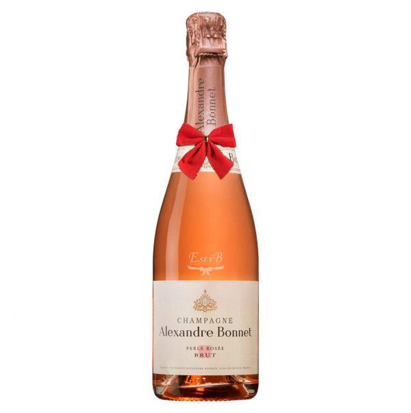 Send Alexandre Bonnet Perle Rosée Champagne Brut 750ml to Israel