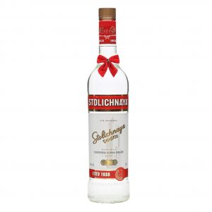 Stolichnaya Red Vodka 700ml